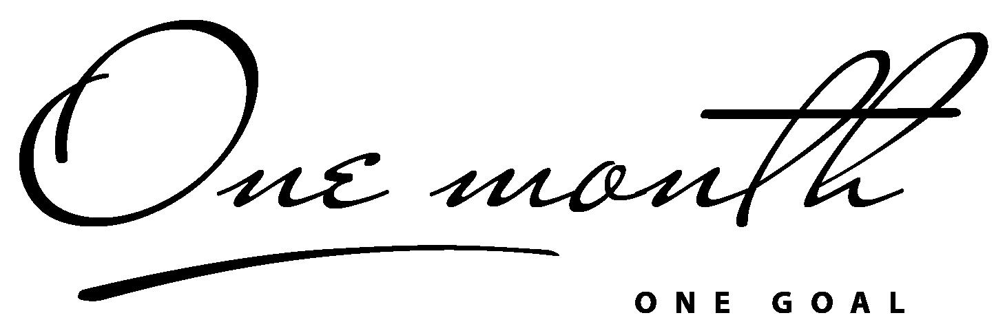 Carousel-OneMonthl-OneGoal