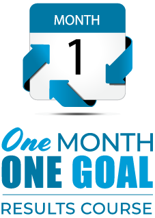 one month one goal course